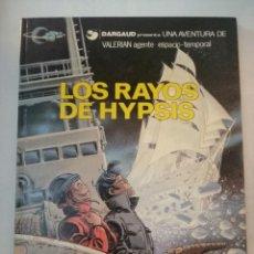 Cómics: LOS RAYOS DE HYPSIS.UNA AVENTURA DE VALERIAN AGENTE ESPACIO-TEMPORAL Nº 12. GRIJALBO.. Lote 287175188