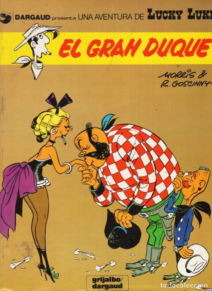 LUCKY LUKE Nº 3 EL GRAN DUQUE - GRIJALBO - CARTONE - VER DESCRIPCION - SUB03Q (Tebeos y Comics - Grijalbo - Lucky Luke)