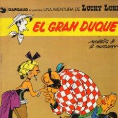 Comics: LUCKY LUKE Nº 3 EL GRAN DUQUE - GRIJALBO - CARTONE - VER DESCRIPCION - SUB03Q. Lote 287183853