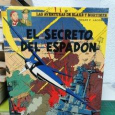 Comics: LAS AVENTURAS DE BLAKE Y MORTIMER 11. EL SECRETO DEL ESPADÓN. Lote 287202793
