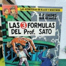 Comics: LAS AVENTURAS DE BLAKE Y MORTIMER 12. LAS 3 FÓRMULAS DEL PROF. SATO (2ª PARTE). Lote 287202943