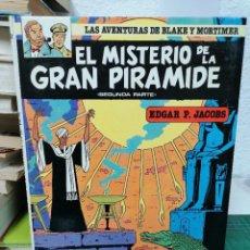 Comics: LAS AVENTURAS DE BLAKE Y MORTIMER 2. EL MISTERIO DE LA GRAN PIRÁMIDE. SEGUNDA PARTE. Lote 287203073