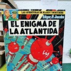 Comics: LAS AVENTURAS DE BLAKE Y MORTIMER 4. EL ENIGMA DE LA ATLÁNTIDA. Lote 287203488