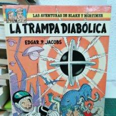 Comics: LAS AVENTURAS DE BLAKE Y MORTIMER 6. LA TRAMPA DIABÓLICA.. Lote 287203793