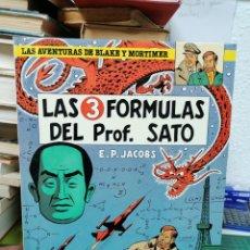 Comics: LAS AVENTURAS DE BLAKE Y MORTIMER, 8. LAS 3 FÓRMULAS DEL PROF SATO. Lote 287214893