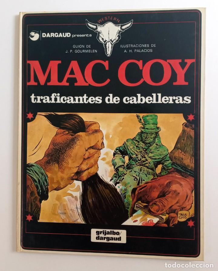MAC COY - TRAFICANTES DE CABELLERAS - EDICIÓN 1980 (Tebeos y Comics - Grijalbo - Mac Coy)