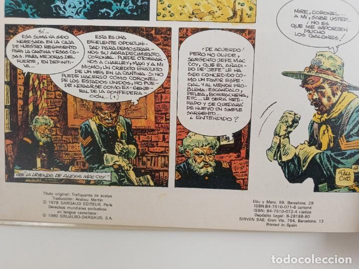 Cómics: MAC COY - TRAFICANTES DE CABELLERAS - EDICIÓN 1980 - Foto 2 - 287344388