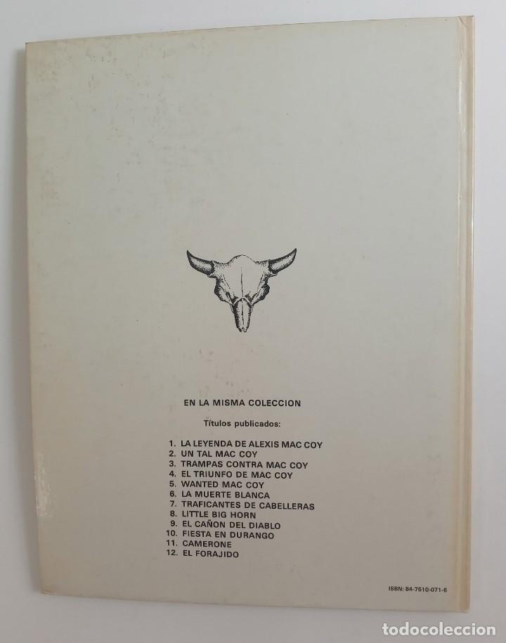 Cómics: MAC COY - TRAFICANTES DE CABELLERAS - EDICIÓN 1980 - Foto 3 - 287344388