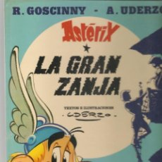Cómics: ASTERIX. Nº 25. LA GRAN ZANJA. EDICIONES JUNIOR/GRIJALBO, 1980. (*). Lote 287727083