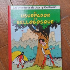 Cómics: LAS AVENTURAS DE JUAN Y GUILLERMO JOHAN Y PIRLUIT Nº 2 GRIJALBO TAPA DURA. Lote 287917643