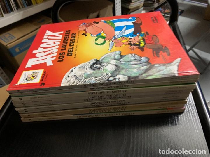 LOTE DE 10 ÁLBUMES DE ASTÉRIX, DE GOSCINNY Y UDERZO (Tebeos y Comics - Grijalbo - Asterix)
