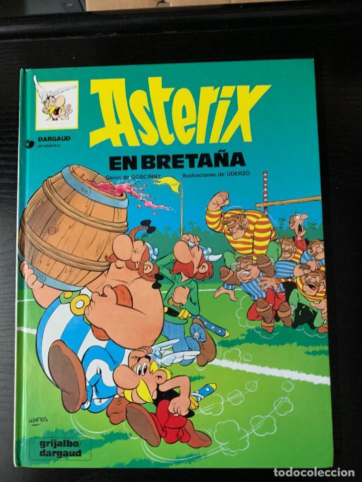 Cómics: Lote de 10 álbumes de Astérix, de Goscinny y Uderzo - Foto 9 - 287935813