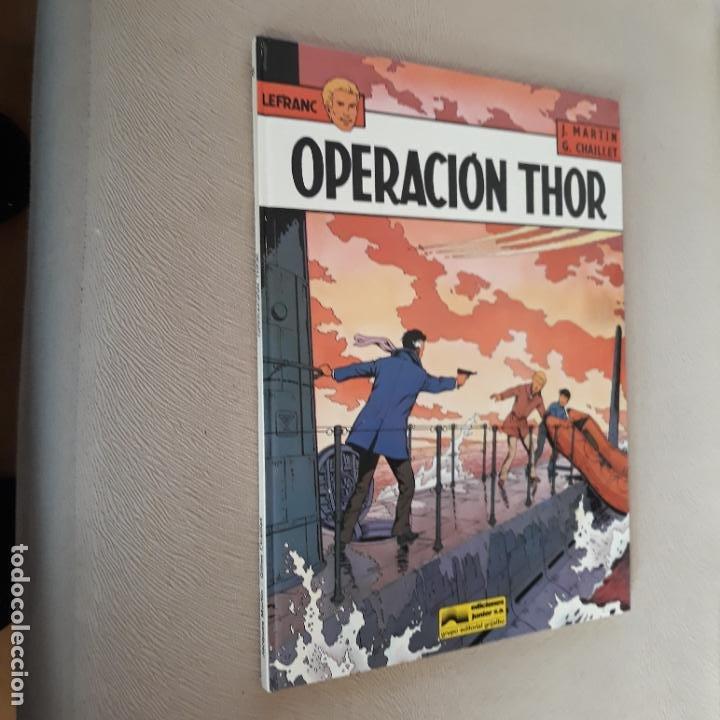 LEFRANC GRIJALBO JUNIOR Nº 6 OPERACIÓN THOR (Tebeos y Comics - Grijalbo - Lefranc)