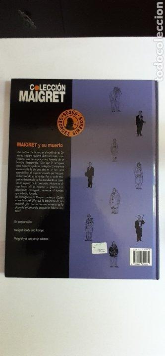 Cómics: Maigret y su muerto, 1°edición 1993 - Foto 2 - 288000168