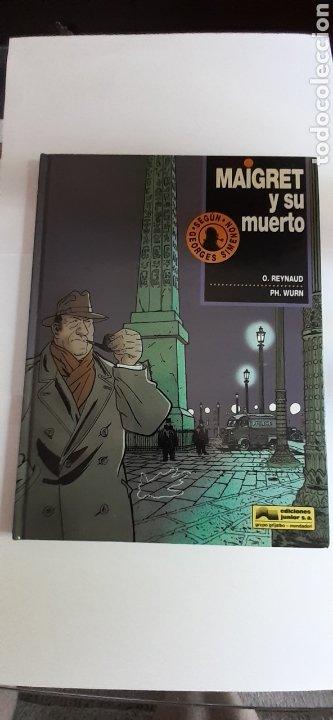 MAIGRET Y SU MUERTO, 1°EDICIÓN 1993 (Tebeos y Comics - Grijalbo - Otros)
