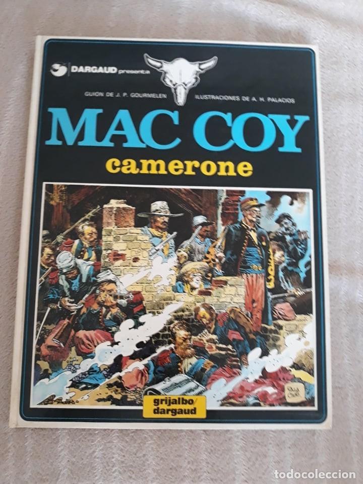 MAC COY Nº 11 - CAMERONE - GRIJALBO (Tebeos y Comics - Grijalbo - Mac Coy)