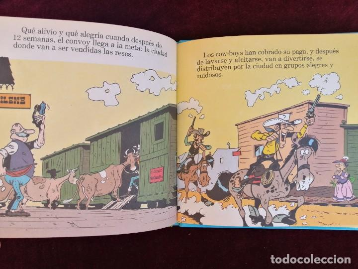 Cómics: LUCKY LUKE Y SU MUNDO - LOS COW-BOYS - MORRIS - CÓMIC - ED. GRIJALBO - AÑOS 80 - Foto 4 - 288147933