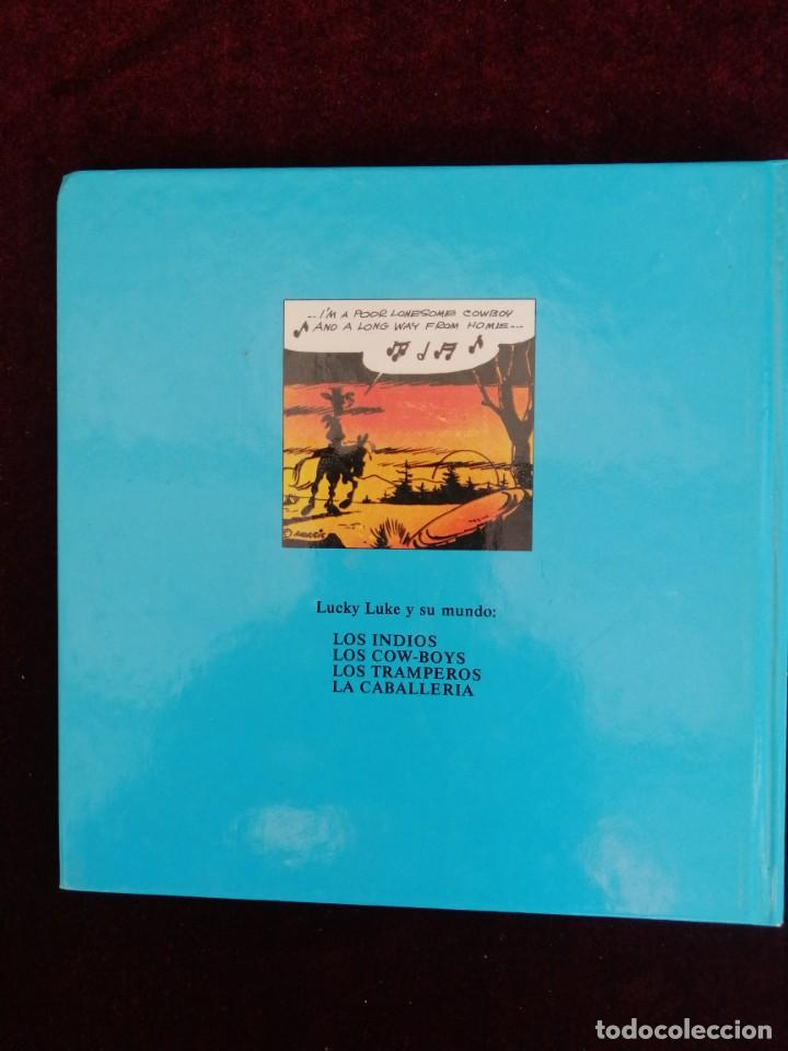 Cómics: LUCKY LUKE Y SU MUNDO - LOS COW-BOYS - MORRIS - CÓMIC - ED. GRIJALBO - AÑOS 80 - Foto 6 - 288147933