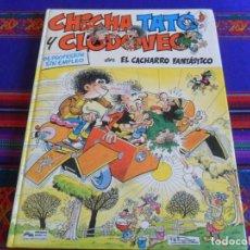 Cómics: CHICHA, TATO Y CLODOVEO Nº 4 EL CACHARRO FANTÁSTICO. JUNIOR GRIJALBO 1987.. Lote 288217078