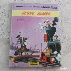 Cómics: UNA AVENTURA DE LUCKY LUKE, Nº 41, JESSE JAMES, MORRIS & GOSCINNY, GRIJALBO /DARGAUD. Lote 288338153