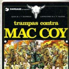 Comics: HERNANDEZ PALACIOS - MAC COY Nº 3 - TRAMPAS CONTRA MAC COY - ED. JUNIOR 1979 - 1ª EDICION - BIEN. Lote 288361888