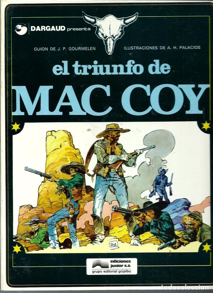 HERNANDEZ PALACIOS - MAC COY Nº 4 - EL TRIUNFO DE MAC COY - ED. JUNIOR 1979 - 1ª EDICION - BIEN (Tebeos y Comics - Grijalbo - Mac Coy)