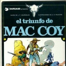 Comics: HERNANDEZ PALACIOS - MAC COY Nº 4 - EL TRIUNFO DE MAC COY - ED. JUNIOR 1979 - 1ª EDICION - BIEN. Lote 288362033