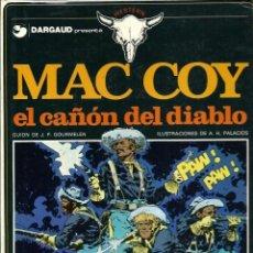 Cómics: HERNANDEZ PALACIOS - MAC COY Nº 9 - EL CAÑON DEL DIABLO - ED. JUNIOR 1982 - 1ª EDICION - BIEN. Lote 288362483