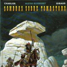 Cómics: JEAN GIRAUD - MISTER BLUEBERRY Nº 36 - SOMBRAS SOBRE TOMBSTONE - GRIJALBO 1998 1ª EDICION - MUY BIEN. Lote 288362913