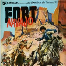 Cómics: JEAN GIRAUD - TENIENTE BLUEBERRY Nº 16 [Nº 1] - FORT NAVAJO - GRIJALBO 1988 - MUY BIEN. Lote 288363128
