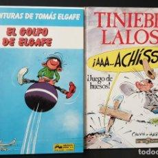 Cómics: TINIEBLO LALOSA ! JUEGO DE HUESOS ! Y EL GOLFO DE ELGAFE. Lote 288373713