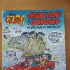 Cómics: TOPE GUAI! Nº 12 - CHICHA TATO Y CLODOVEO DE PROFESION SIN EMPLEO - EL ARCA DE NOE II - GRIJALBO (A). Lote 288383343