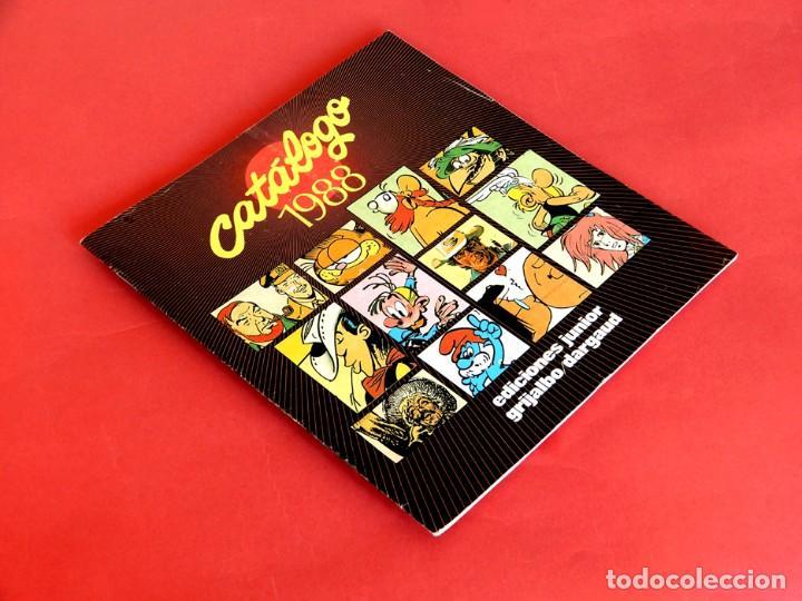 Cómics: CATALOGO 1988 - EDICIONES JUNIOR - GRIJALBO/DARGAUD - GRUPO EDITORIAL - DIFÍCIL - Foto 2 - 288476373