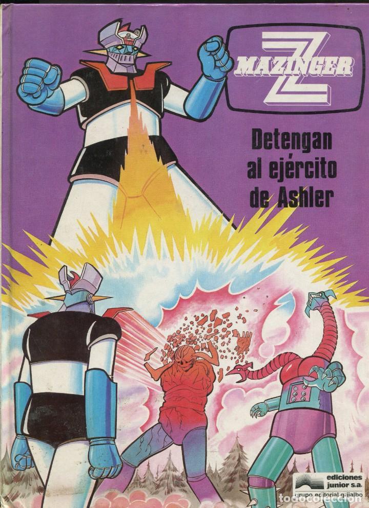 MAZINGUER Z . VOL. 2 DETENGAN AL EJÉRCITO DE ASHLER.. ED. GRIJALBO 1978 (Tebeos y Comics - Grijalbo - Otros)
