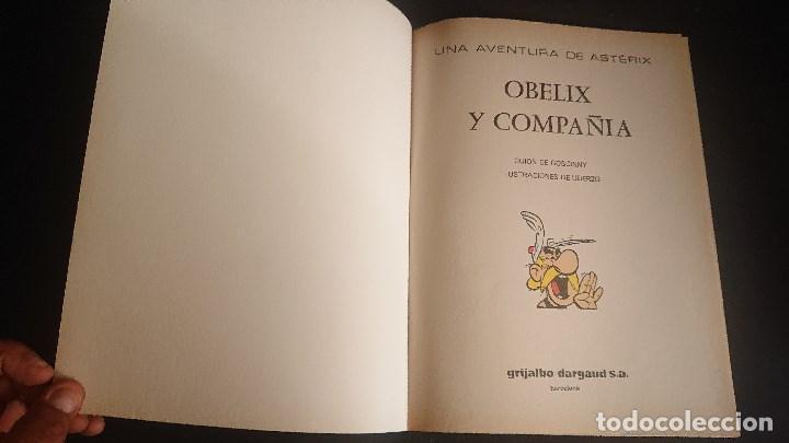 Cómics: TEBEO ASTERIX , OBELIX Y COMPAÑIA TAPA BLANDA , LEER DESCRIPCION - Foto 2 - 288579468
