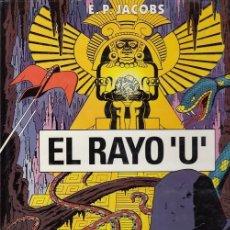 Cómics: EL RAYO U - E. P. JACOBS - GRIJALBO - TAPA DURA #. Lote 288628908