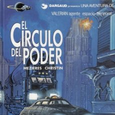 Cómics: VALERIAN AGENTE ESPACIO TEMPORAL Nº 15 - EL CIRCULO DE PODER - GRIJALBO- TAPA DURA #. Lote 288633293