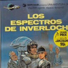 Comics: VALERIAN AGENTE ESPACIO TEMPORAL Nº 11 - LOS ESPECTROS DE INVERLOCH - GRIJALBO- TAPA DURA #. Lote 288633433