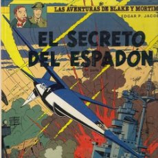 Cómics: LAS AVENTURAS DE BLAKE Y MORTIMER Nº 11 - EL SECRETO DEL ESPADON 3ª PARTE - GRIJALBO - TAPA DURA #. Lote 288637523