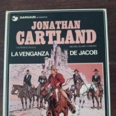 Cómics: 1 CÓMIC JONATHAN CARTLAND: LA VENGANZA DE JACOB NÚMERO 4 AÑO 1985. Lote 288681188