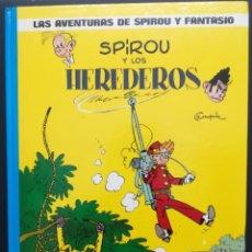 Cómics: LAS AVENTURAS DE SPIROU Y FANTASIO. Nº 2. SPIROU Y LOS HEREDEROS. GRIJALBO. Lote 289025993