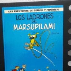 Cómics: LAS AVENTURAS DE SPIROU Y FANTASIO. Nº 3. LOS LADRONES DEL MARSUPILAMI. GRIJALBO. Lote 289026123