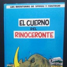 Cómics: LAS AVENTURAS DE SPIROU Y FANTASIO. Nº 4. EL CUERNO DEL RINOCERONTE. GRIJALBO. Lote 289026248