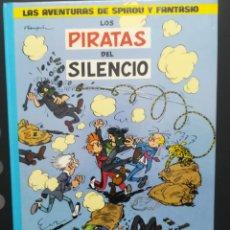 Cómics: LAS AVENTURAS DE SPIROU Y FANTASIO. Nº 8. LOS PIRATAS DEL SILENCIO. GRIJALBO. Lote 289026623