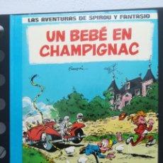 Cómics: LAS AVENTURAS DE SPIROU Y FANTASIO. Nº 15. UN BEBÉ EN CHAMPIGNAC. GRIJALBO. Lote 289027048