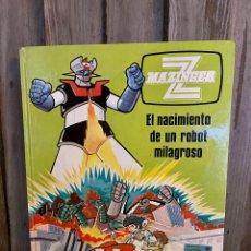 Cómics: MAZINGER Z Nº1. EL NACIMIENTO DE UN ROBOT MILAGROSO. GRIJALBO. Lote 289362323