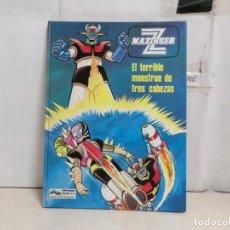 Cómics: MAZINGER Z--EL TERRIBLE MONSTRUO DE TRES CABEZAS --EXCELENTE ESTADO -EDICIONES JUNIOR-1978-. Lote 289412698