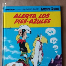 Cómics: ALERTA LOS PIES - AZULES LUCKY LUKE Nº 45 - MORRIS DARGAUD GRIJALBO. Lote 289452168