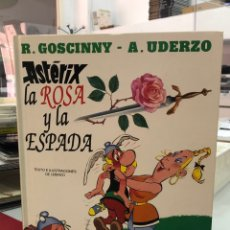 Cómics: ASTERIX LA ROSA Y LA ESPADA - UDERZO - GRIJALBO CIRCULO DE LECTORES. Lote 289455098