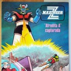 Cómics: COMIC MAZINGER Z - Nº 3 AFRODITA A ATRAPADA EDICIONES JUNIOR 1978 GRIJALBO. Lote 289687978